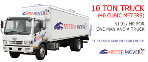 hire truck for home removal