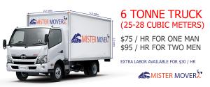 6 tonne capacity Van with a Man