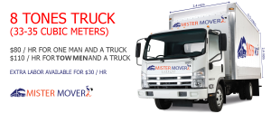 8 tones trucks