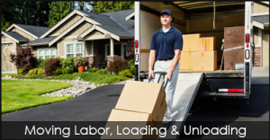 We provide local moving labor to help you when loading and unloading your moving truck or container