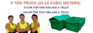 6 Ton Truck hire