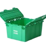Use green reusable packing boxes to save environment