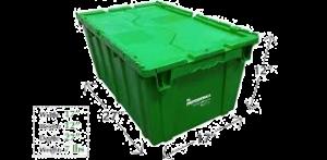 Vertical Green Box