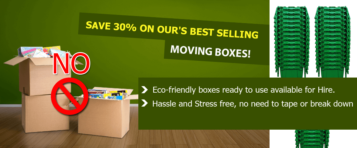 Save 30% on best selling moving boxes