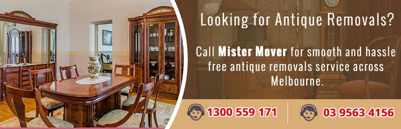 Antique Removals Melbourne.