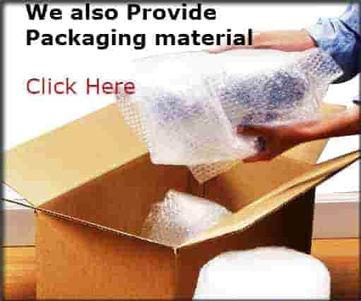 Packing products like boxes, packing paper and wrap are available at cheap prices