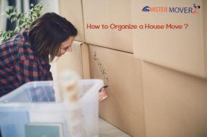 Organize A House Move
