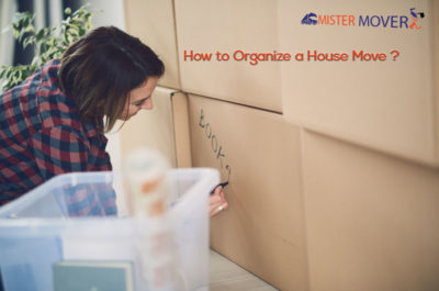 Organize A House Move