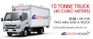 10 Tonne Truck Melbourne